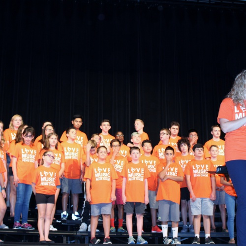 PEHS Choir Day Camp finale concert, 08.11.2017