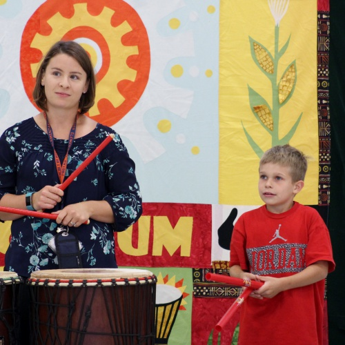 Dancing Drums character assembly, 08.31.2017
