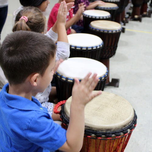 Dancing Drums character assembly, 09.01.2017
