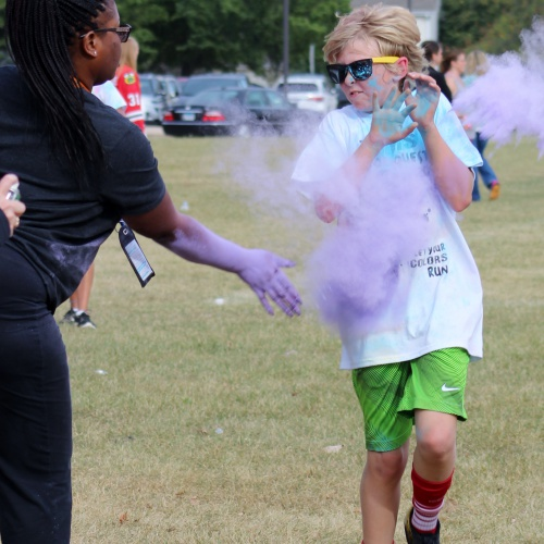 Color Quest fun run, 10.04.2017
