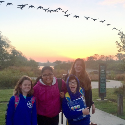 National Walk to School Day, 10.13.2017