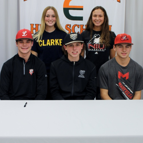 Winter college athletic signings, 11.09.2017