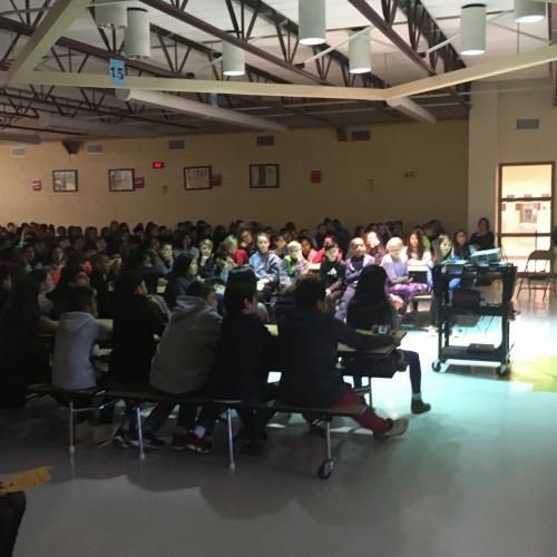 Michael Northrop, Author Visit for 6th grade 11/29/17