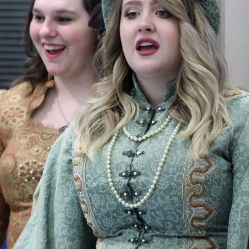 Madrigals at Elizabeth Eichelberger, Creekside, and Bonnie McBeth Learning Center, 11.29.2017