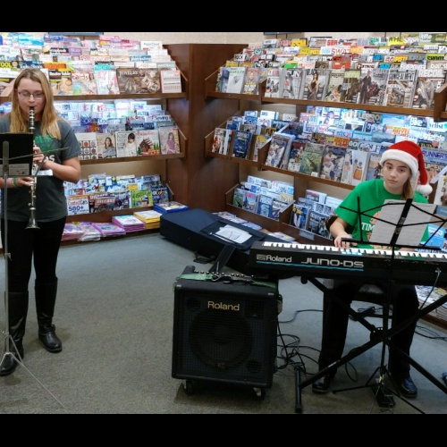 Barnes and Noble fundraiser night, 12.14.2017