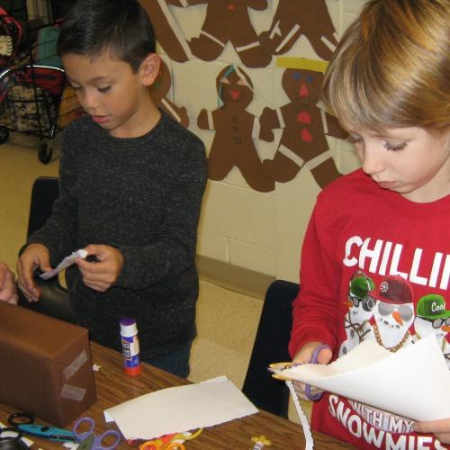 Gingerbread Houses - Mrs. Grabowski 2nd grade