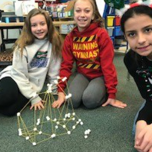 Using STEM principles to create the tallest tower, 12.22.2017