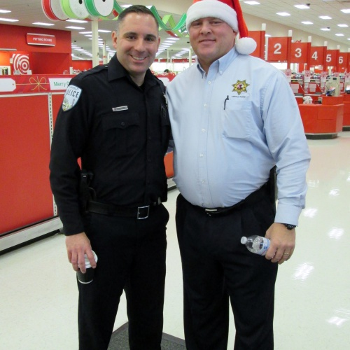 Shop with a Cop at Target, 12.22.2017