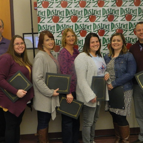 Board Recognitions -- January 22, 2018