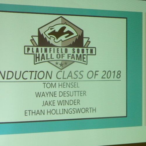 Inaugural Athletic Hall of Fame induction ceremony, 01.26.2018