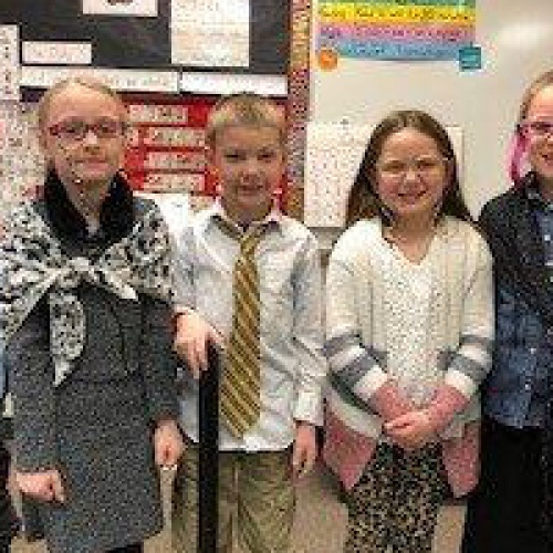 First graders celebrate 100 days of school, 01.29.2018