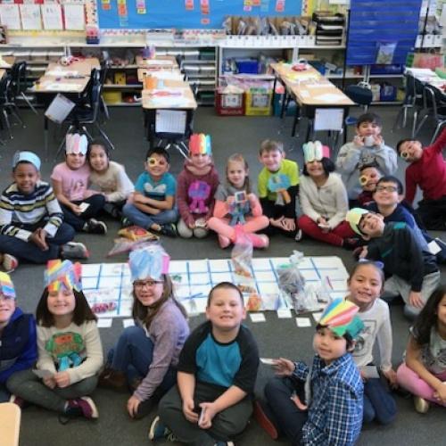 First graders, kindergarteners celebrate 100 days of school, 01.29.2018