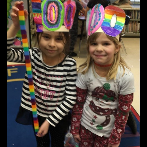 First graders, kindergarteners celebrate 100 days of school, 01.29.2018