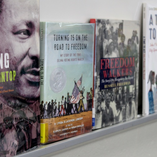 Plainfield Public Library staff talks about Martin Luther King Jr., Civil Rights, 01.30.2018