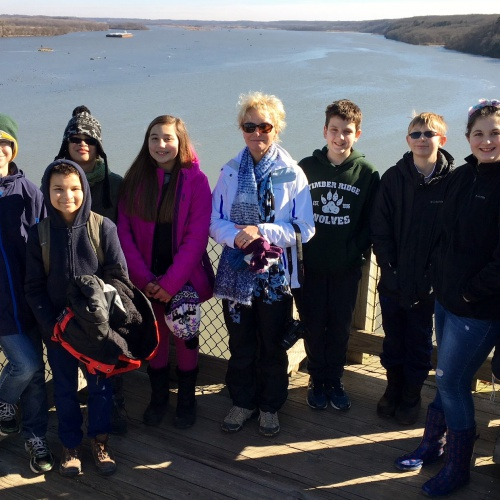 Environmental Club visits Starved Rock, 01.27.2018
