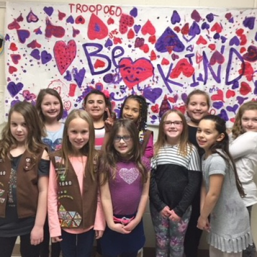 Troop 060 Spreads Kindness