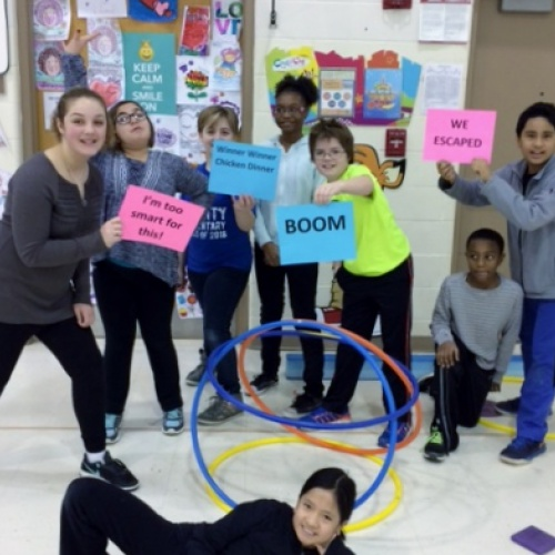 Breakout box fun in physical education, 02.2018