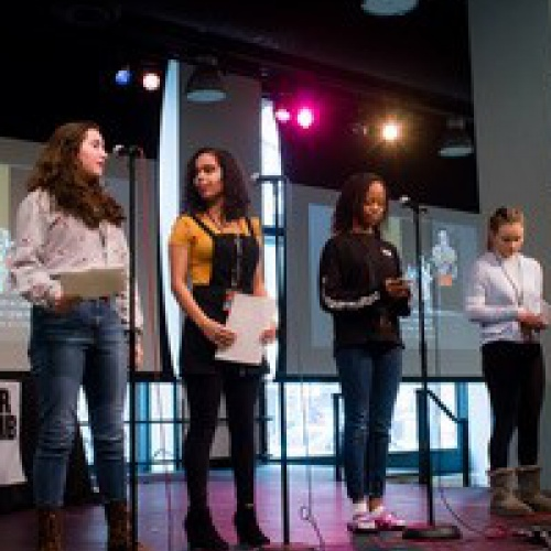 Louder Than A Bomb poetry preliminary rounds, 02.24.2018