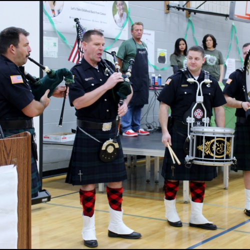 7th annual St. Baldrick's assembly to fight cancer, 03.12.2018