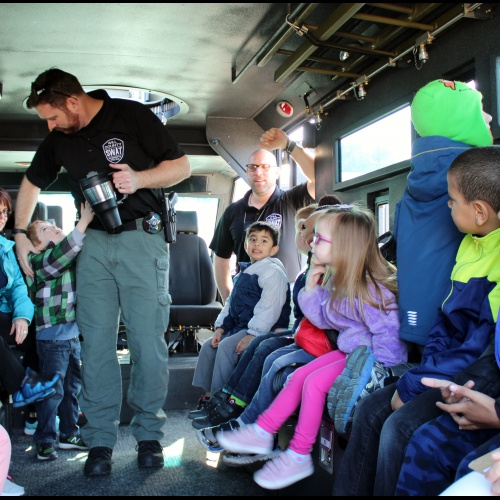 Will County SWAT Bear vehicle tour, 04.12.2018