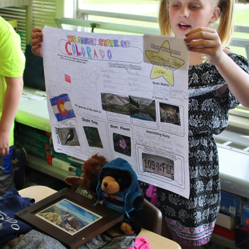Fourth grade State Fair presentations, 04.26.2018