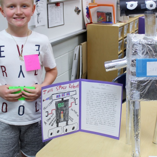 Third grade honors design, create inventions, 05.17.2018