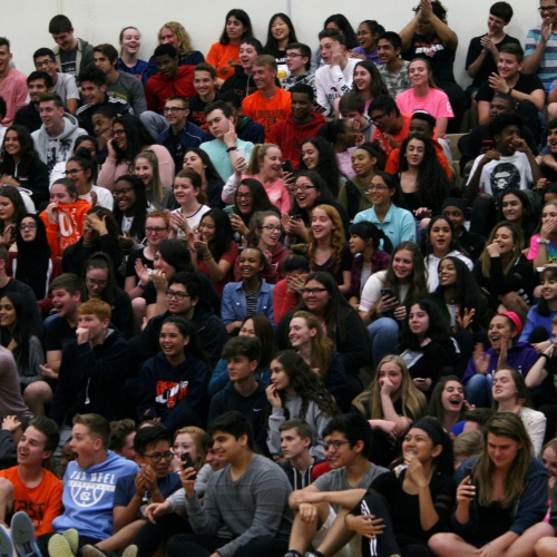 End of year pep assembly, May 2018