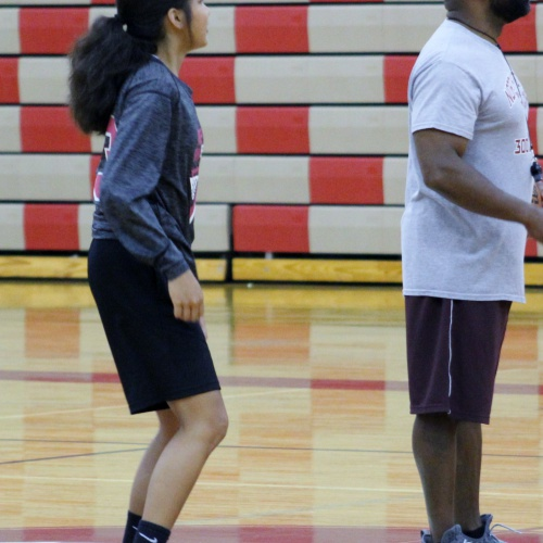 Girls basketball summer camp, 06.13.2018