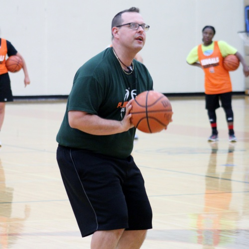 High school girls basketball summer camp, 06.06.2018