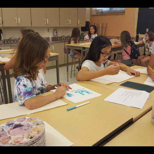 PEHS 2018 Summer Art Camp