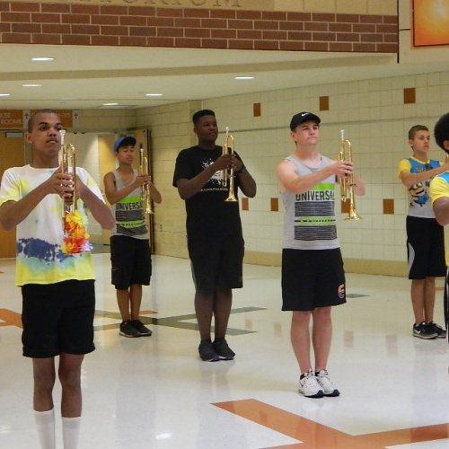 2018 Marching Band Summer Camp
