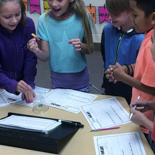 Saving Fred: A team building exercise with third graders, August 2018