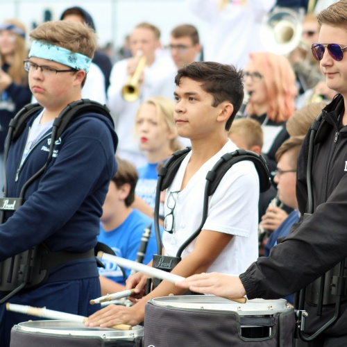 Homecoming pep rally, 09.28.2018