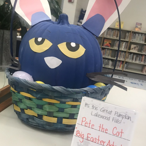 Storybook Character Pumpkin Contest