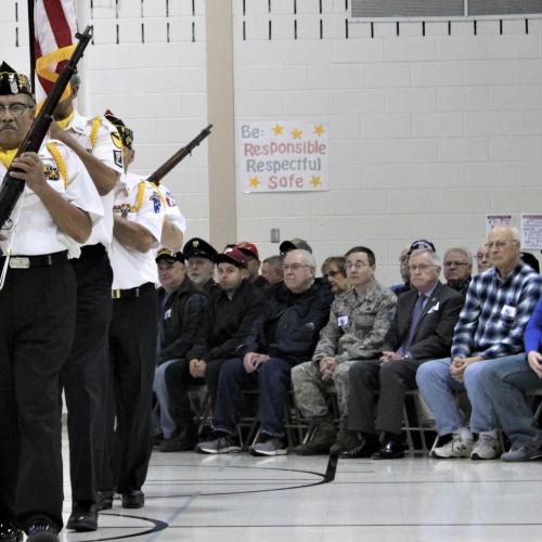 Veterans Day at Liberty 2018