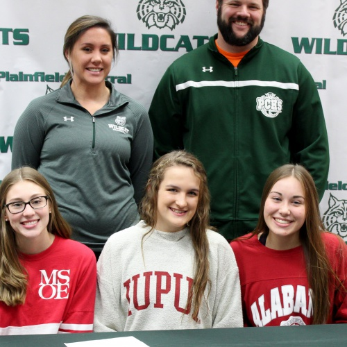 Student athletes sign letters of intent to play in college, 11.14.2018