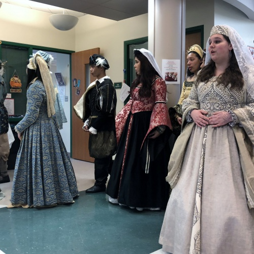 PEHS Madrigals perform at Bonnie McBeth, 11.27.2018