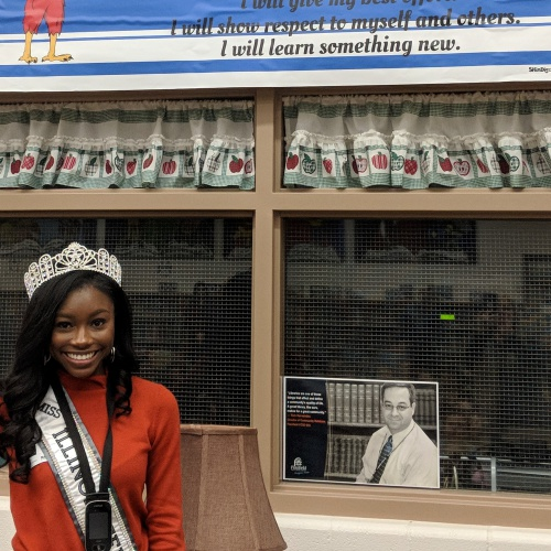 Miss Illinois Teen USA A'Maiya Allen Comes to Liberty