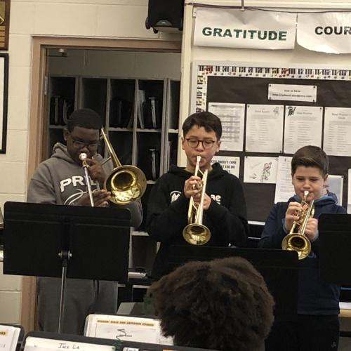 6th Grade Band Ensemble 2.5.19