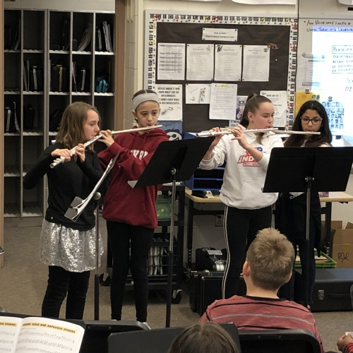 6th Grade Band Ensemble 2.5.19