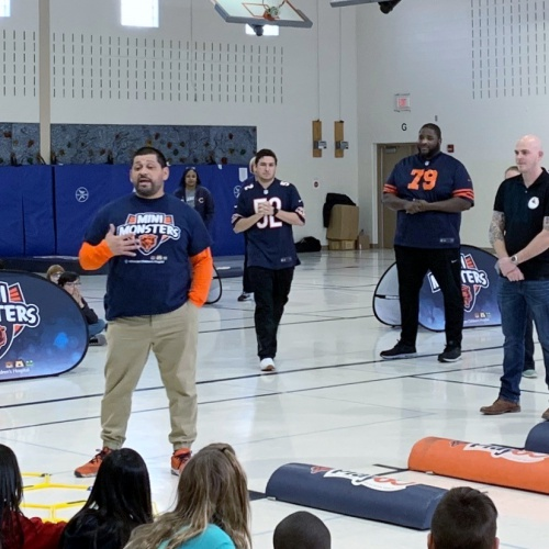 5th grade Mini Monsters Play 360 with Chicago Bears, 02.19.2019