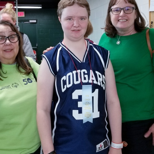 Special Olympian places at state competition