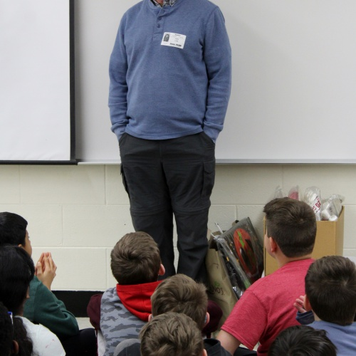 Fourth graders learn about Illinois, 03.22.2019
