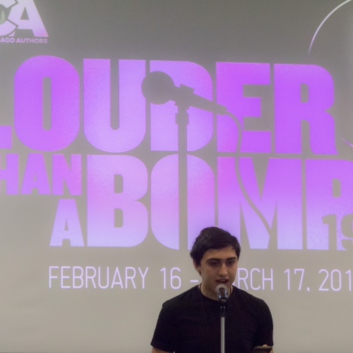 Louder Than a Bomb poetry competition, 03.2019