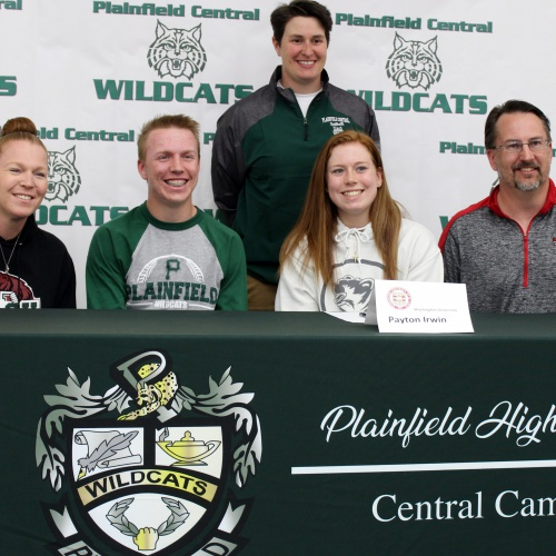 Student athletes sign letters of intent to play in college, 04.10.2019