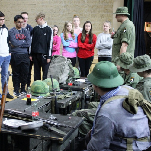 Re-enactors bring Vietnam War to life, 04.15.2019