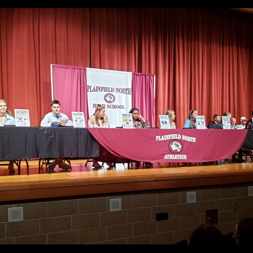 Students sign letters of intent to play sports in college, 04.17.2019