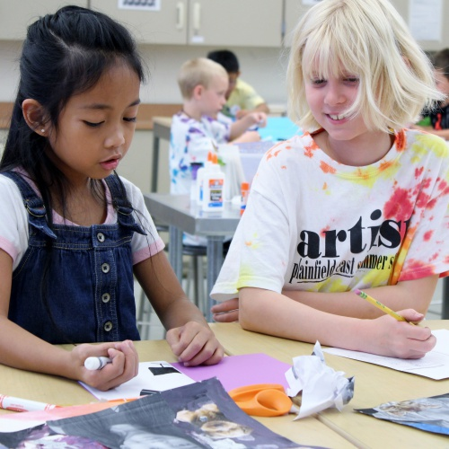 Third annual Summer Art Studio for kids, 07.08.2019
