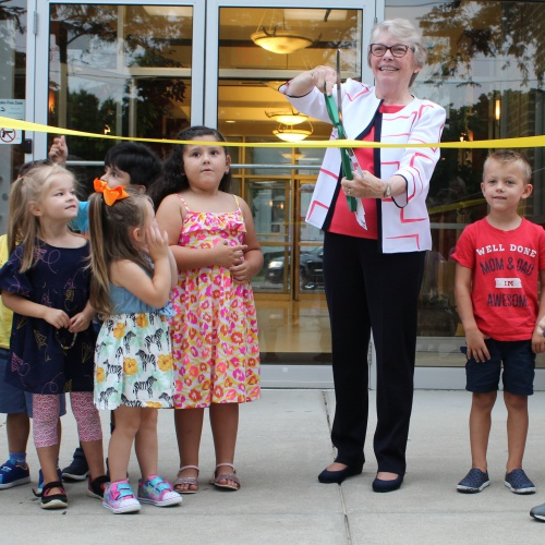 Ina Brixey Center ribbon cutting ceremony, 08.20.2019