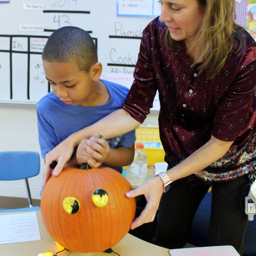 FBI class uses pumpkins to test math, literacy skills, 10.15.2019